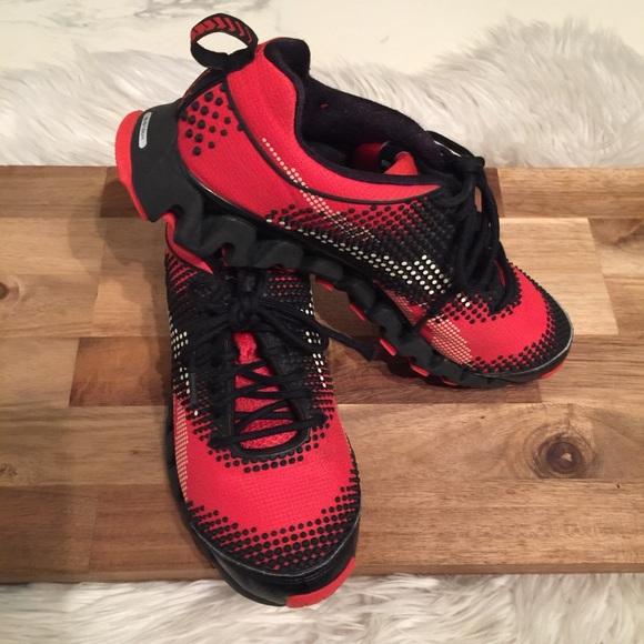 Reebok Shoes | Reebok Zigtech Red Black